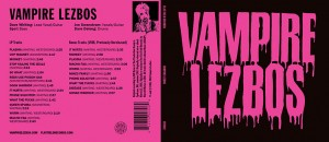 Vampire Lezbos CD cover